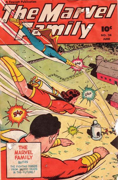 Cover for The Marvel Family (Fawcett, 1945 series) #24