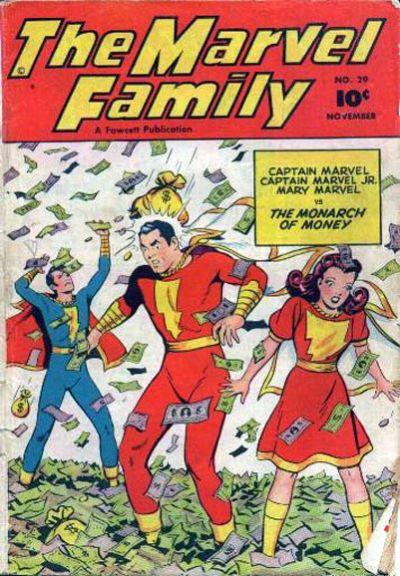 Cover for The Marvel Family (Fawcett, 1945 series) #29