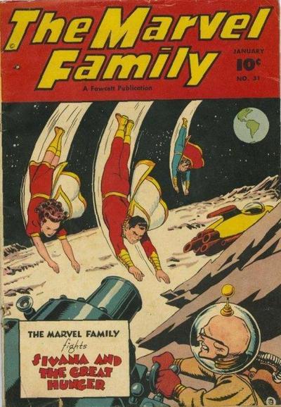 Cover for The Marvel Family (Fawcett, 1945 series) #31