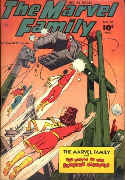 Cover for The Marvel Family (Fawcett, 1945 series) #35