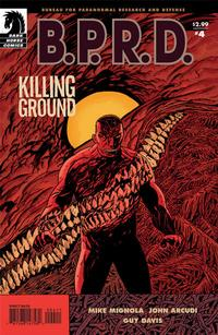 Cover Thumbnail for B.P.R.D.: Killing Ground (Dark Horse, 2007 series) #4