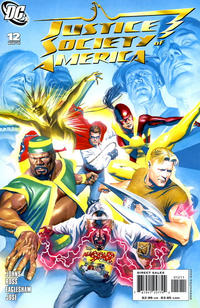 Cover Thumbnail for Justice Society of America (DC, 2007 series) #12 [Standard Cover Edition]