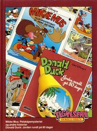 Cover Thumbnail for Tegneseriebokklubben (Hjemmet / Egmont, 1985 series) #64 - Mikke Mus: Pelskåpemysteriet og andre historier; Donald Duck: Jorden rundt på 80 dager