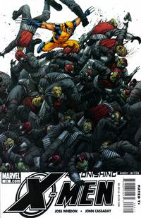 Cover Thumbnail for Astonishing X-Men (Marvel, 2004 series) #23 [Wolverine Cover]