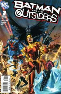 Cover Thumbnail for Batman and the Outsiders (DC, 2007 series) #1 [Doug Braithwaite Cover]