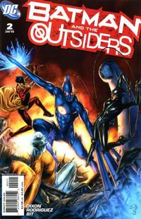 Cover Thumbnail for Batman and the Outsiders (DC, 2007 series) #2