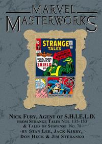 Cover for Marvel Masterworks: Nick Fury, Agent of S.H.I.E.L.D. (Marvel, 2007 series) #1 [Regular Edition]