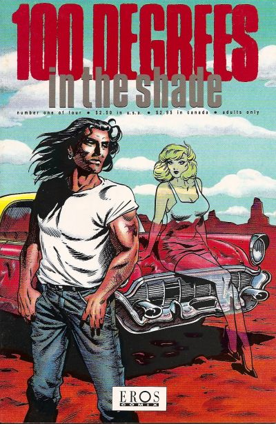 Cover for 100 Degrees in the Shade (Fantagraphics, 1992 series) #1