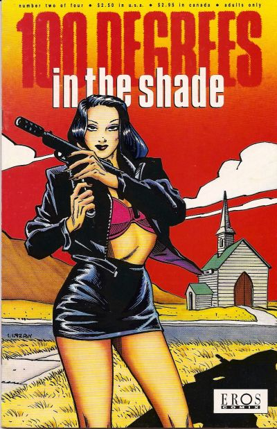 Cover for 100 Degrees in the Shade (Fantagraphics, 1992 series) #2