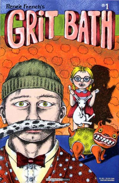 Cover for Grit Bath (Fantagraphics, 1993 series) #1