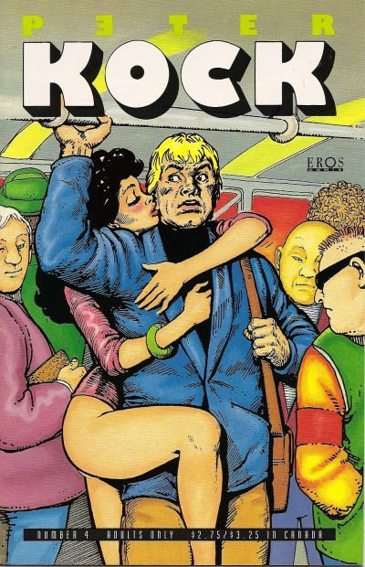 Cover for Peter Kock (Fantagraphics, 1994 series) #4