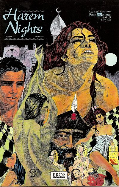 Cover for Harem Nights (Fantagraphics, 1993 series) #1