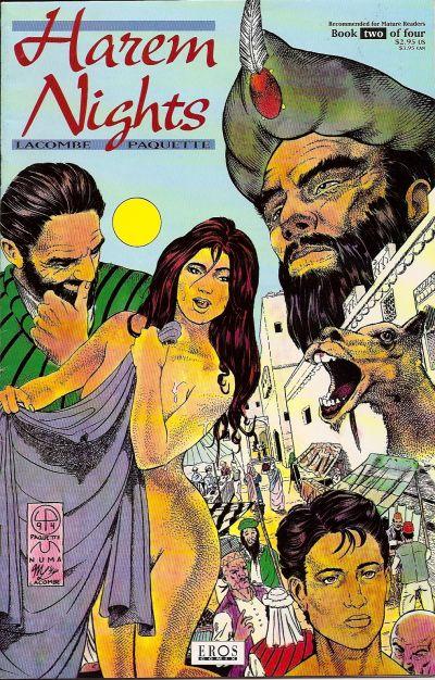 Cover for Harem Nights (Fantagraphics, 1993 series) #2