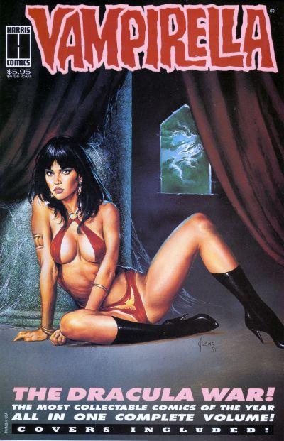 Cover for Vampirella the Dracula War (Harris Comics, 1993 series)  [Third Printing]