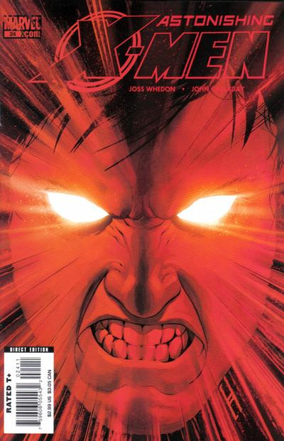 Cover for Astonishing X-Men (Marvel, 2004 series) #24 [Cyclops Cover]