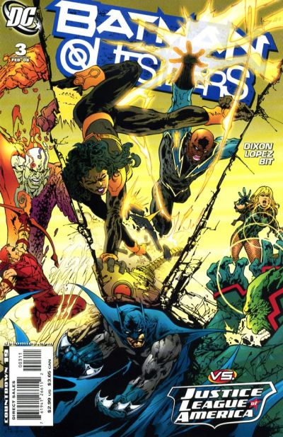 Cover for Batman and the Outsiders (DC, 2007 series) #3