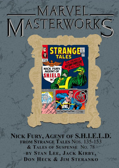 Cover for Marvel Masterworks: Nick Fury, Agent of S.H.I.E.L.D. (Marvel, 2007 series) #1 [Regular Edition]