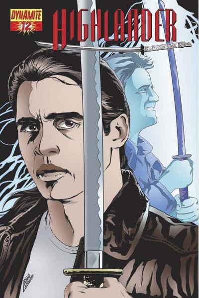 Cover for Highlander (Dynamite Entertainment, 2006 series) #12 [Cover A Michael Avon Oeming]