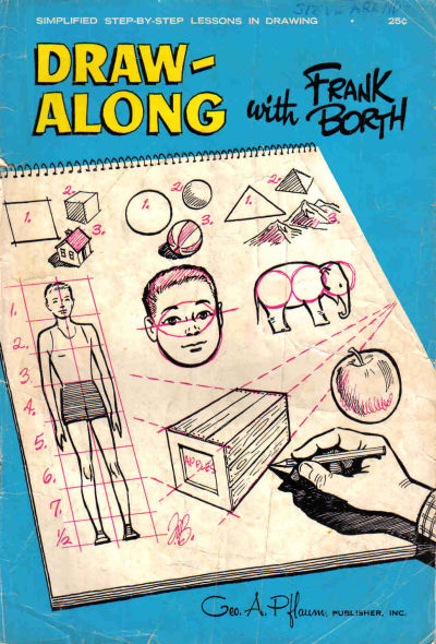 Cover for Draw-Along With Frank Borth (George A. Pflaum, 1965 series)