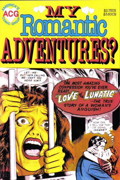 Cover for My Romantic Adventures? (Avalon Communications, 1997 series) #1