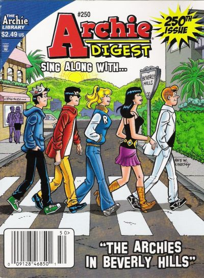 Cover for Archie Comics Digest (Archie, 1973 series) #250 [Direct]