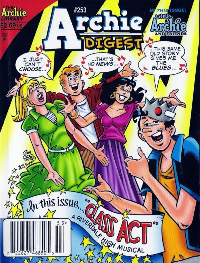 Cover for Archie Comics Digest (Archie, 1973 series) #253