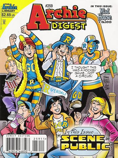 Cover for Archie Comics Digest (Archie, 1973 series) #259