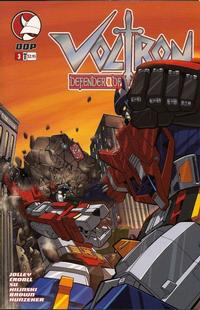 Cover Thumbnail for Voltron: Defender of the Universe (Devil's Due Publishing, 2004 series) #3