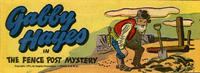 Cover Thumbnail for Gabby Hayes [Quaker Oats giveaway] (Fawcett, 1951 series) #nn [2]