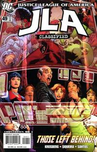 Cover Thumbnail for JLA: Classified (DC, 2005 series) #49 [Direct Sales]