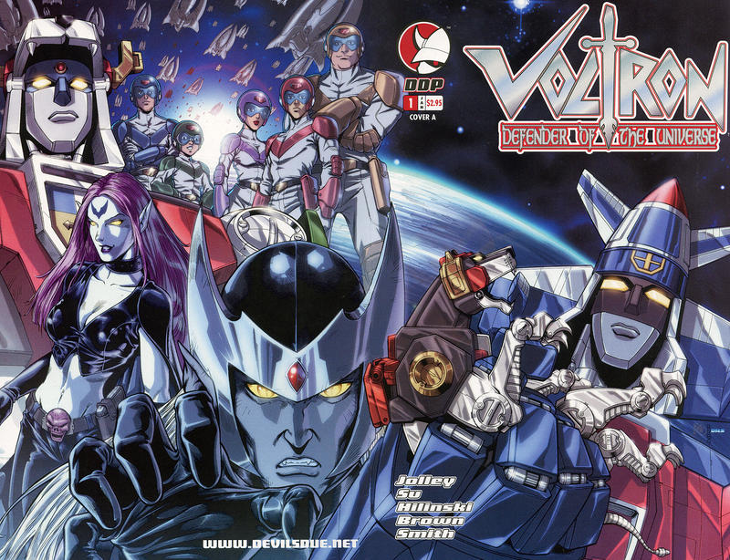 Cover for Voltron: Defender of the Universe (Devil's Due Publishing, 2004 series) #1