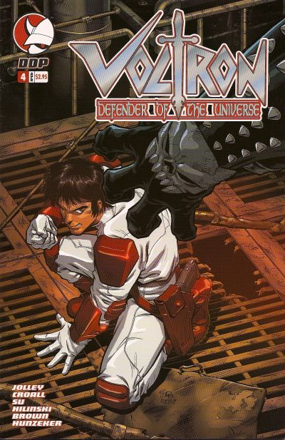Cover for Voltron: Defender of the Universe (Devil's Due Publishing, 2004 series) #4