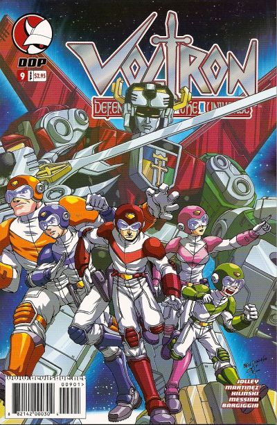 Cover for Voltron: Defender of the Universe (Devil's Due Publishing, 2004 series) #9