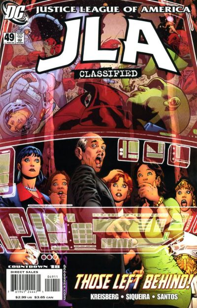 Cover for JLA: Classified (DC, 2005 series) #49 [Direct Sales]
