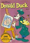 Cover for Donald Duck (Oberon, 1972 series) #40/1980
