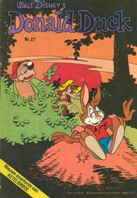 Cover Thumbnail for Donald Duck (Oberon, 1972 series) #27/1974