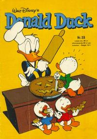 Cover Thumbnail for Donald Duck (Oberon, 1972 series) #28/1976