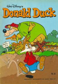 Cover for Donald Duck (Oberon, 1972 series) #31/1976