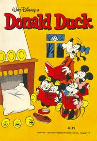 Cover Thumbnail for Donald Duck (Oberon, 1972 series) #49/1976