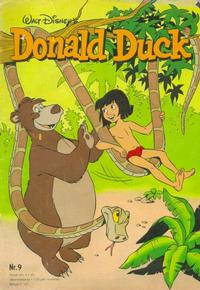 Cover Thumbnail for Donald Duck (Oberon, 1972 series) #9/1980