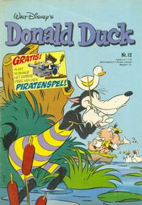 Cover Thumbnail for Donald Duck (Oberon, 1972 series) #12/1980