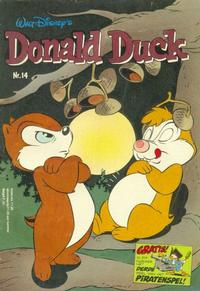 Cover Thumbnail for Donald Duck (Oberon, 1972 series) #14/1980