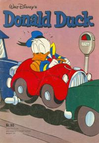 Cover Thumbnail for Donald Duck (Oberon, 1972 series) #30/1980