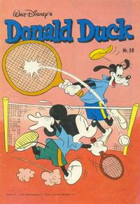 Cover Thumbnail for Donald Duck (Oberon, 1972 series) #38/1980