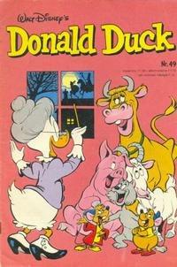 Cover Thumbnail for Donald Duck (Oberon, 1972 series) #49/1980