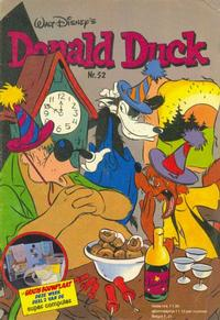 Cover Thumbnail for Donald Duck (Oberon, 1972 series) #52/1980