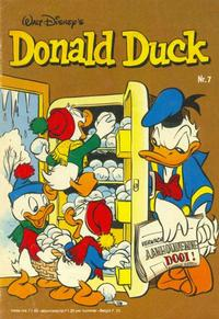 Cover Thumbnail for Donald Duck (Oberon, 1972 series) #7/1981