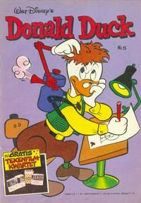 Cover Thumbnail for Donald Duck (Oberon, 1972 series) #15/1981