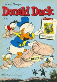 Cover Thumbnail for Donald Duck (Oberon, 1972 series) #26/1981