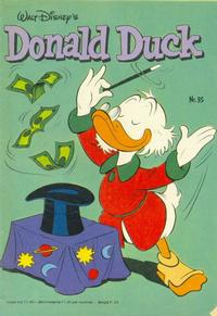 Cover Thumbnail for Donald Duck (Oberon, 1972 series) #35/1981